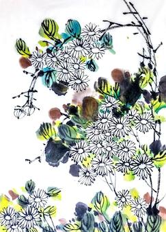 Japanse element tuinborstel speciaal seizoen