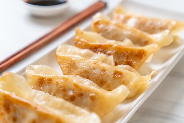 Japanse gyoza of dumplings snack