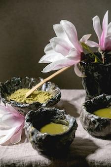 Japanse matcha groene thee