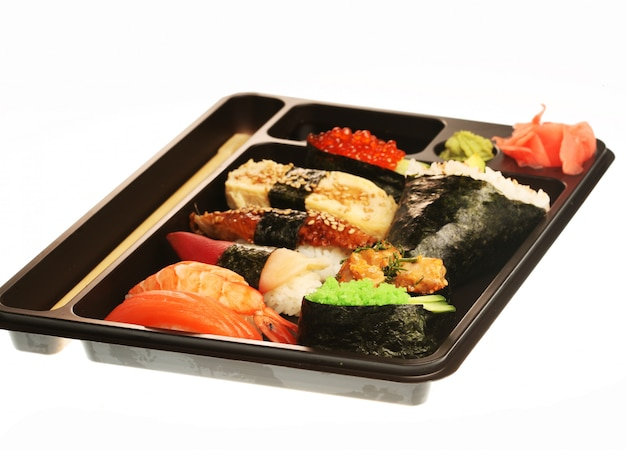 Japanse traditionele sushi