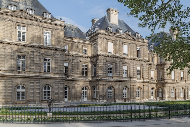 Jardin du luxembourg in het voorjaar