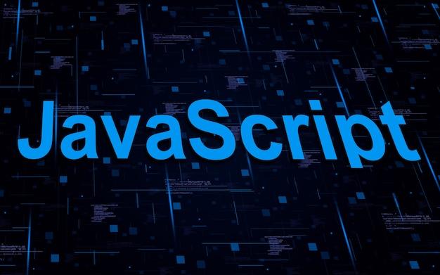 Javascript-programmeertekst