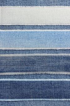 Jeans blauwe textuur als achtergrond