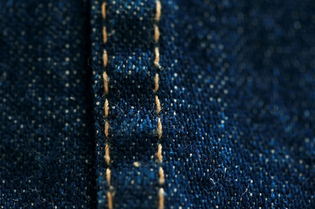 Jeans denim textuur close-up