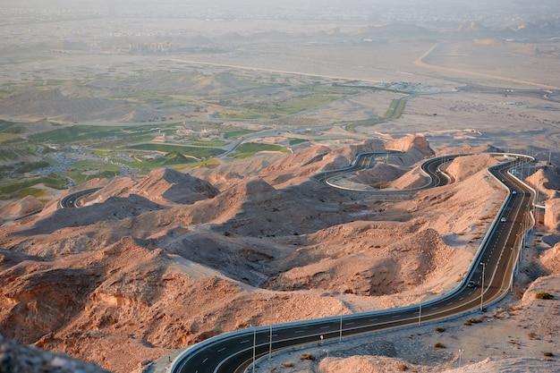 Jebel hafeet road