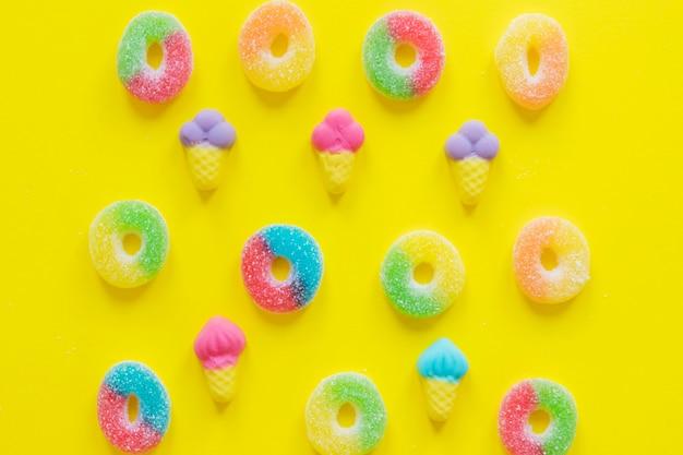 Jelly ring en ijsjes