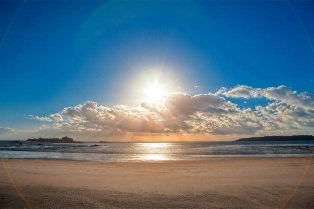 Jersey zonsondergang