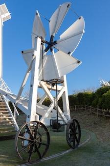 Jill windmill fantackle op de south downs in clayton east sussex op 3 januari 2009