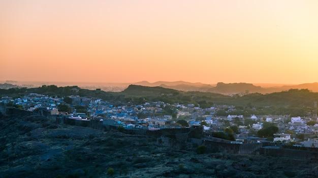 Jodhpur, rajasthan, india, beroemde reisbestemming en toeristische attractie.