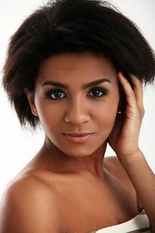 Jong braziliaans vrouwenportret