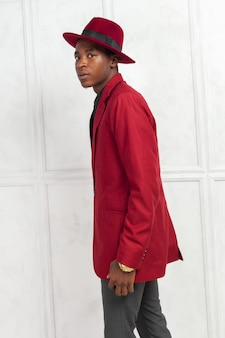 Jong mannelijk afrikaans amerikaans model