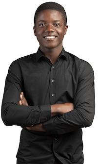 Jonge afrikaanse man
