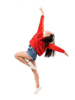 Jonge aziatische danser