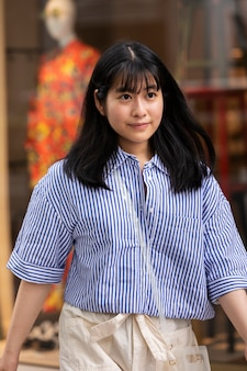 Jonge aziatische persoon portret