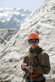 Jonge bergbeklimmer