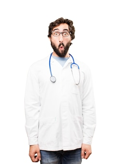 Jonge dokter man verrast