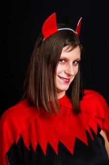 Jonge duivelsvrouw