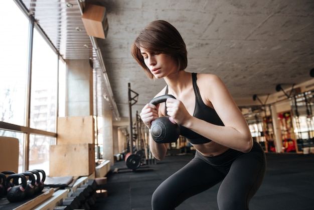 Jonge fitness vrouw
