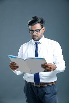 Jonge indiase zakenman