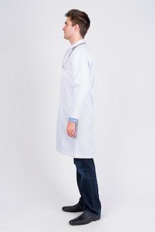 Jonge knappe man arts