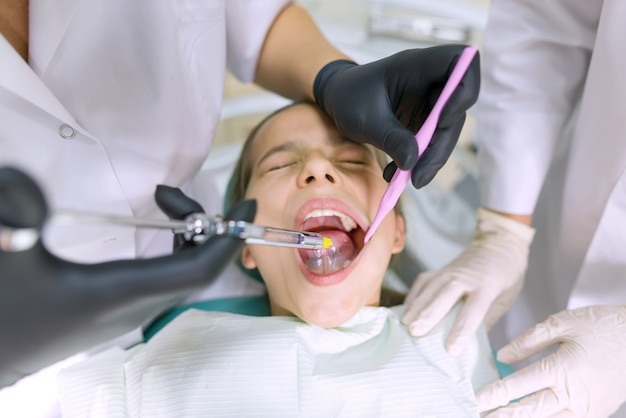 Jonge patiënt als tandartsvoorzitter