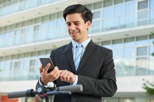 Jonge positieve ondernemer