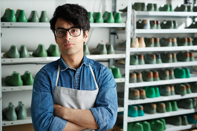 Jonge schoenmaker