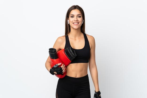 Jonge sportvrouw