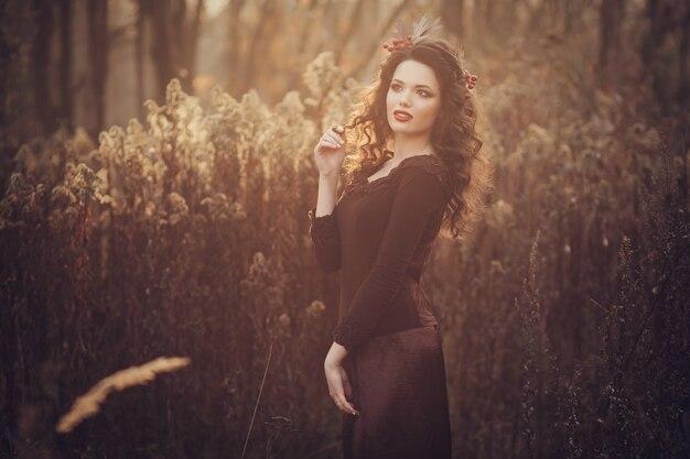 Jonge tedere vrouw