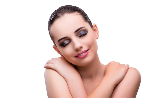 Jonge vrouw met make-up
