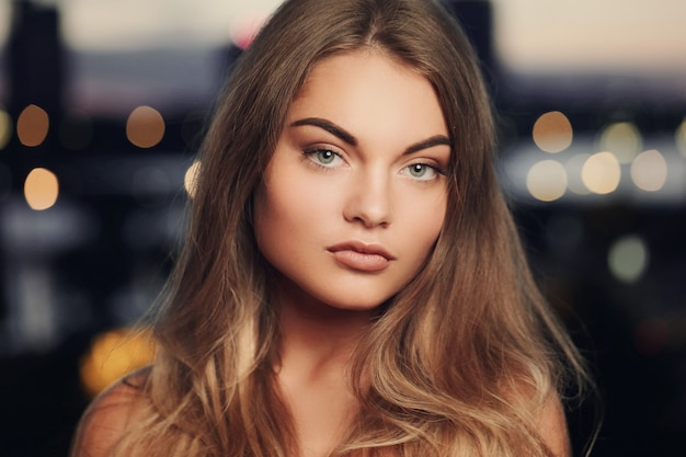 Jonge vrouw portret