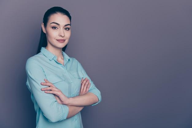 Jonge zakelijke vrouw portret