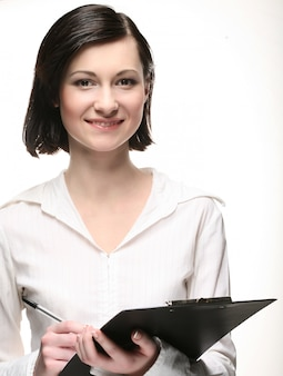 Jonge zakenvrouw