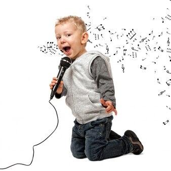Jonge zanger