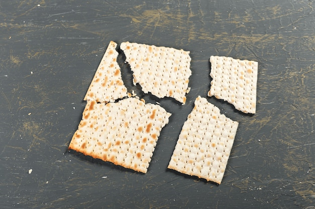 Joods traditioneel pascha-matzo brood
