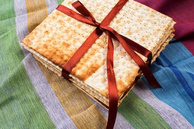Joods traditioneel pascha-matzo brood