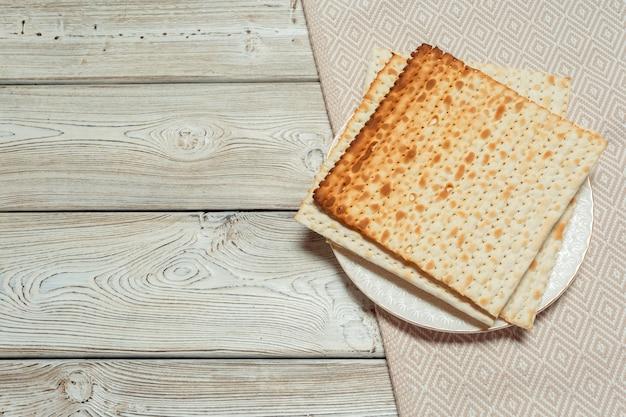Joods traditioneel paschamatzo-brood