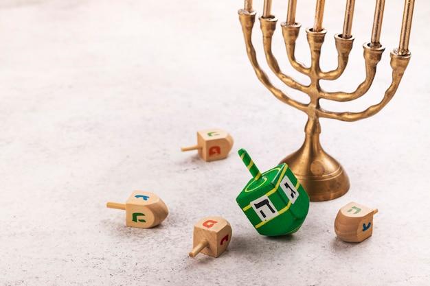 Joodse feestdag hanukkah achtergrond