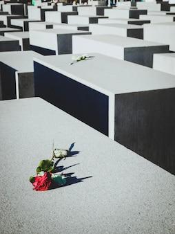 Joodse gedenktekens van slachtoffers in de wereldoorlog. overwinningsdag, 9 mei. herdenkingsdag, begraafplaats