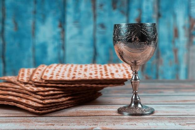 Joodse pesah viering concept joodse vakantie pascha