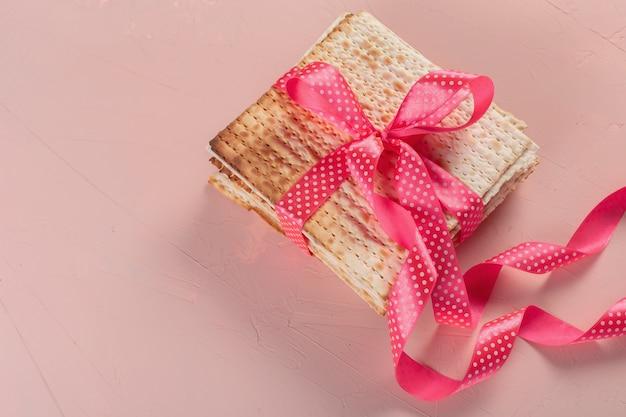Joodse traditionele pesach matzo brood