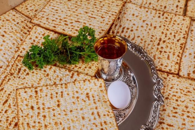 Joodse vakantie pesah viering concept pascha
