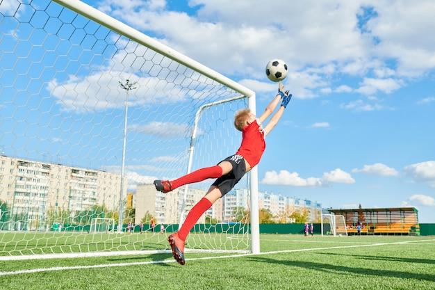 Junior doelman spelen