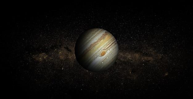 Jupiter in de ruimte