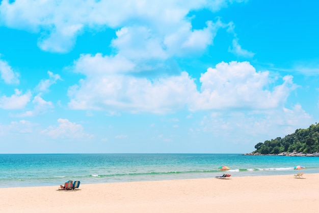 Ka-ron-strand in phuket, thailand.