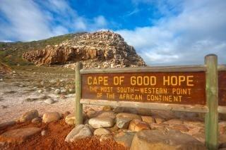 Kaap de goede hoop hdr blauw