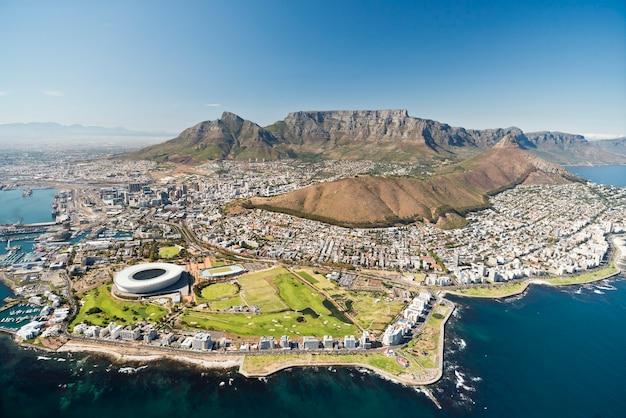 Kaapstad met uitzicht op de tafelberg