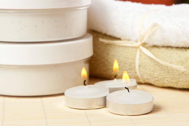 Kaarsen en accessoires voor spa