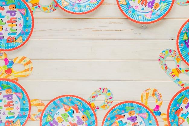 Kaartplaten voor feest