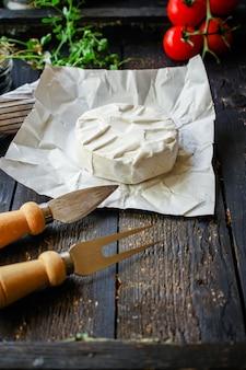 Kaas camembert of brie-menu